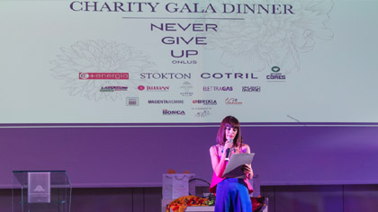 Charity Gala Dinner Never Give Up Onlus